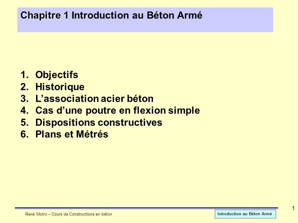 Chapitre 1 Introduction au Béton Armé