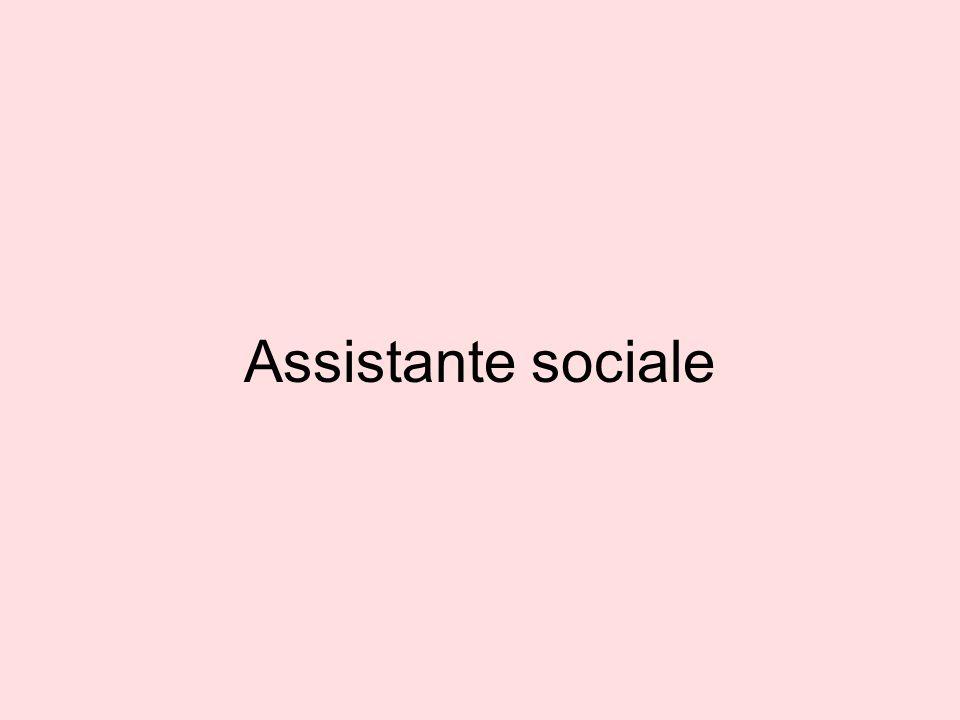 Assistante sociale