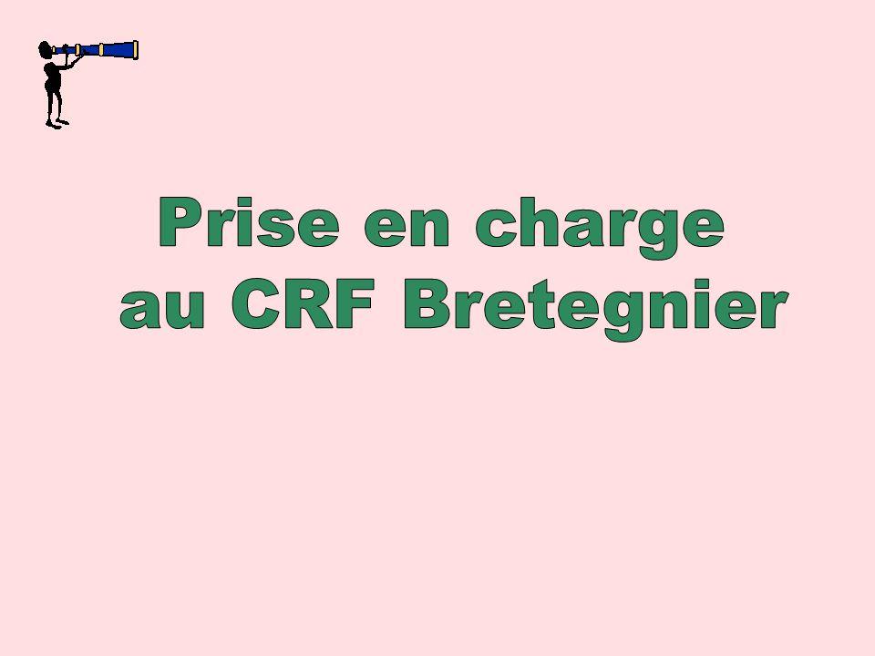 Prise en charge au CRF Bretegnier