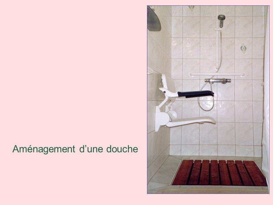 Aménagement d'une douche