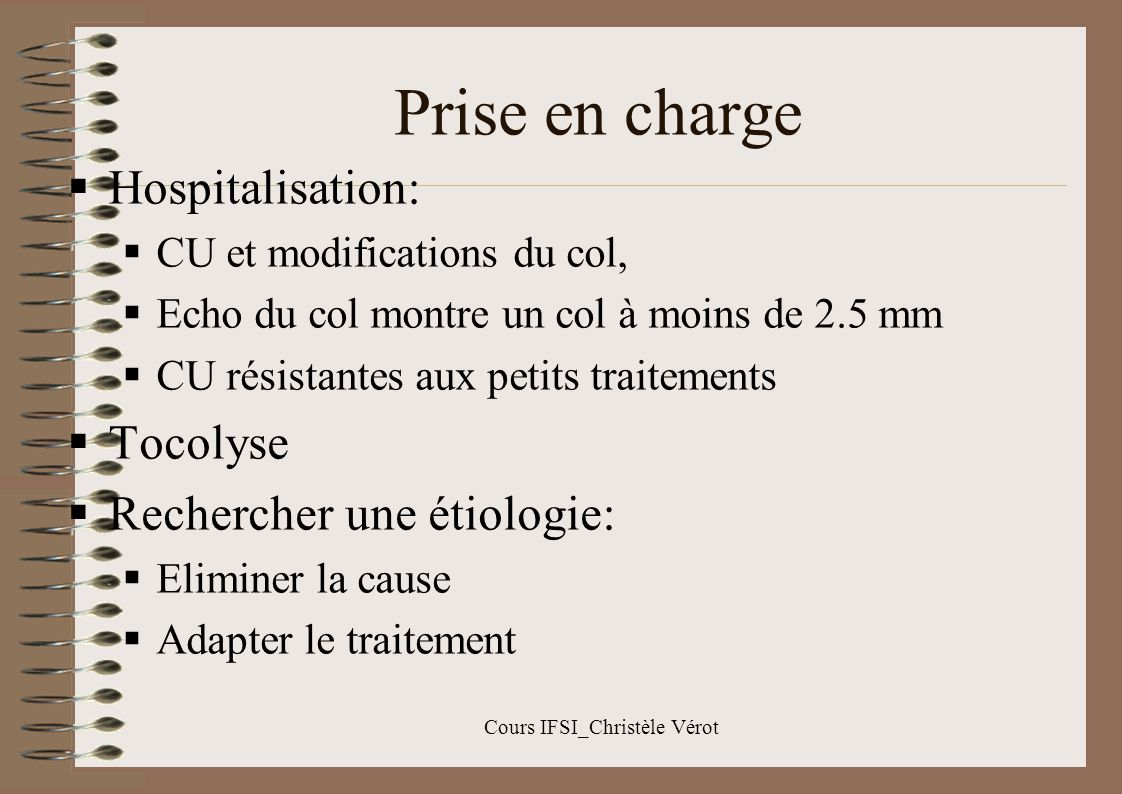 Cours IFSI_Christèle Vérot