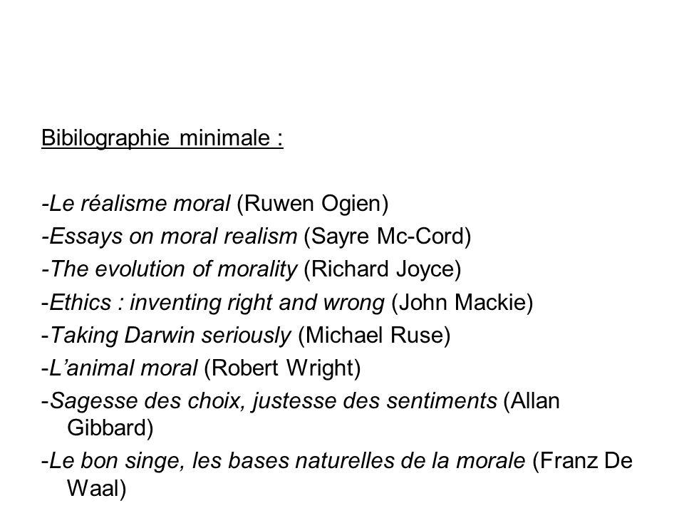moral realism essay