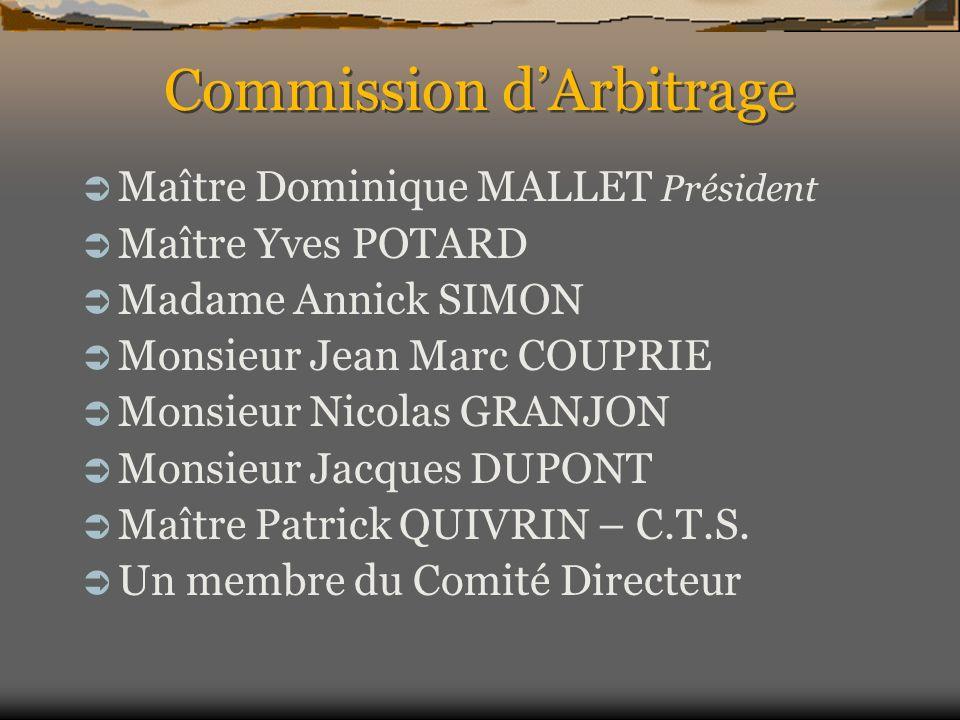 Commission d'Arbitrage