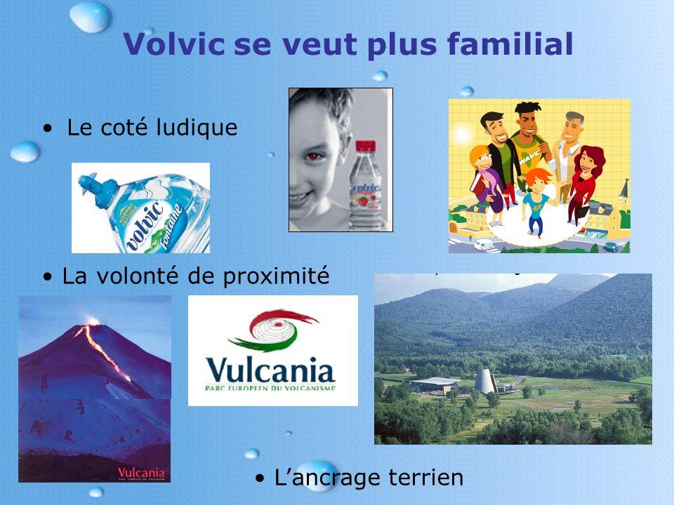 Volvic se veut plus familial