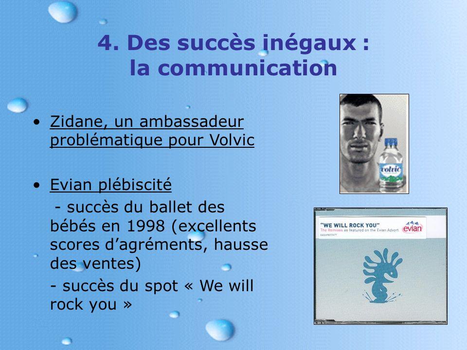 4. Des succès inégaux : la communication