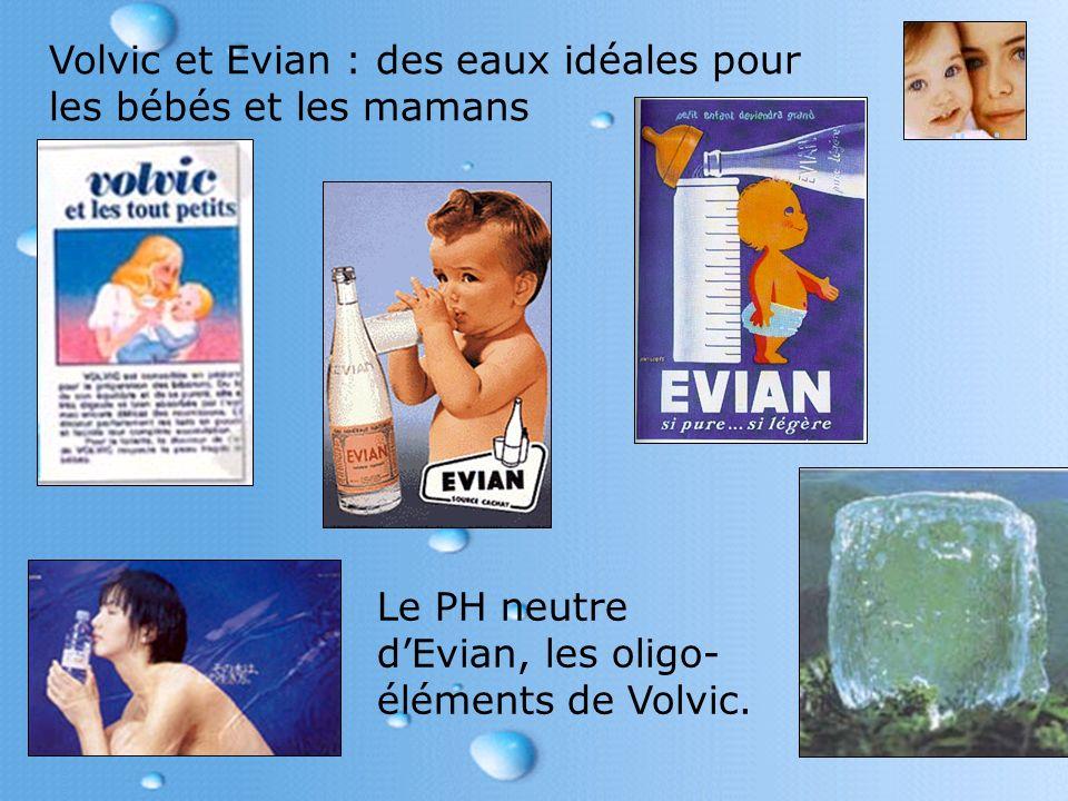 Volvic et Evian : des eaux idéales pour les bébés et les mamans