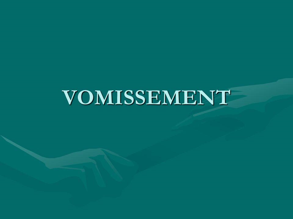 VOMISSEMENT