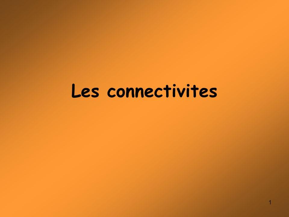 Les connectivites