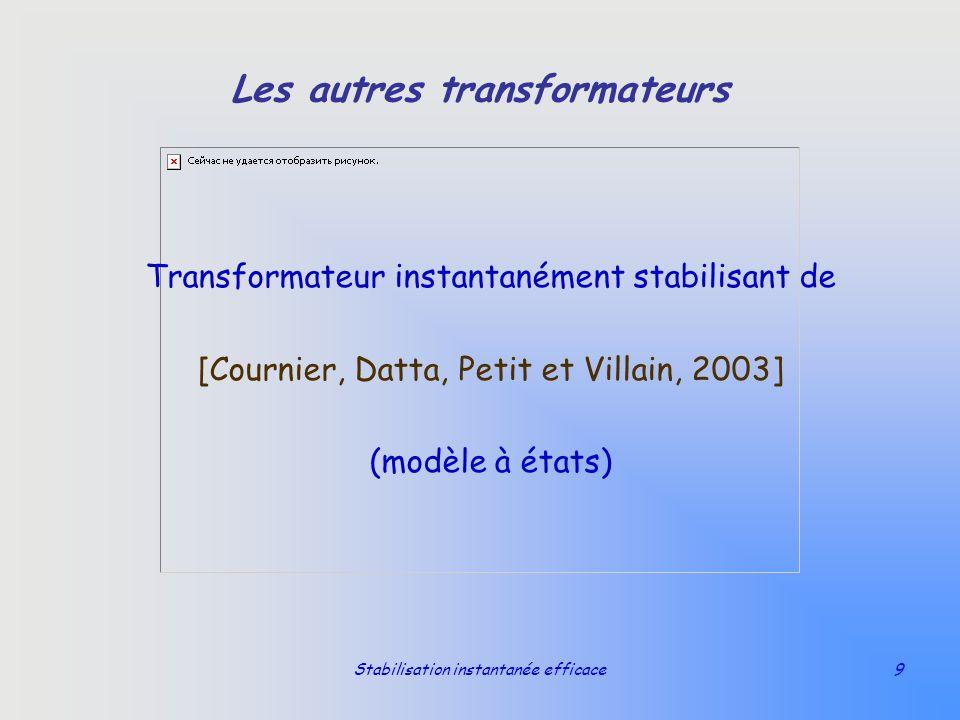 Les autres transformateurs