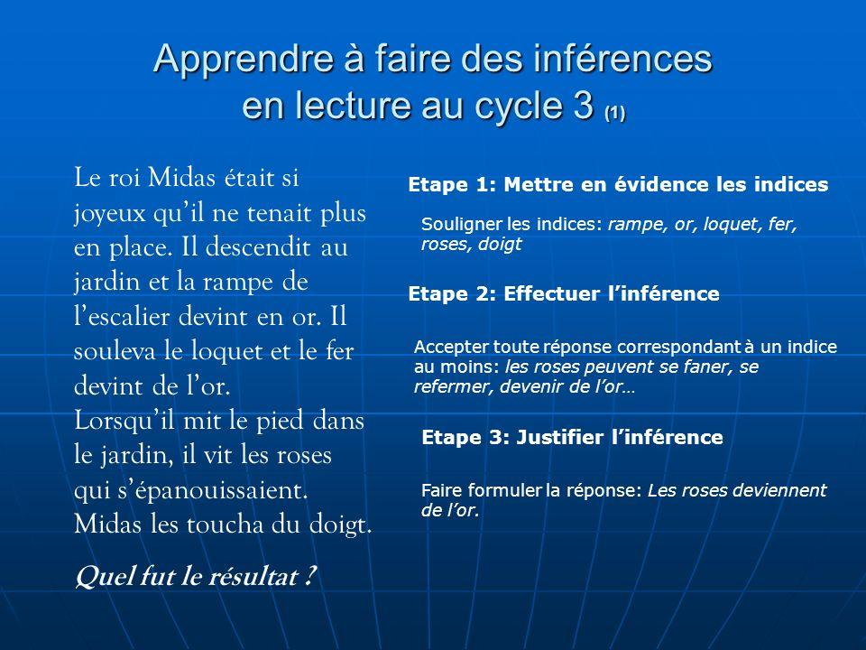 Apprendre à faire des inférences en lecture au cycle 3 (1)