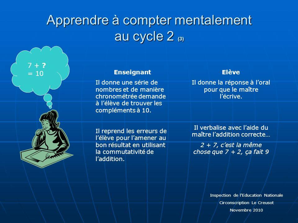 Apprendre à compter mentalement au cycle 2 (3)