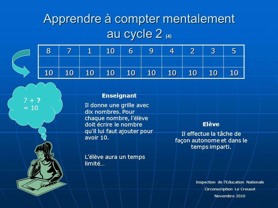 Apprendre à compter mentalement au cycle 2 (4)