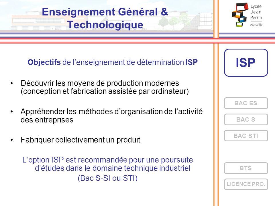 Enseignement Général & Technologique