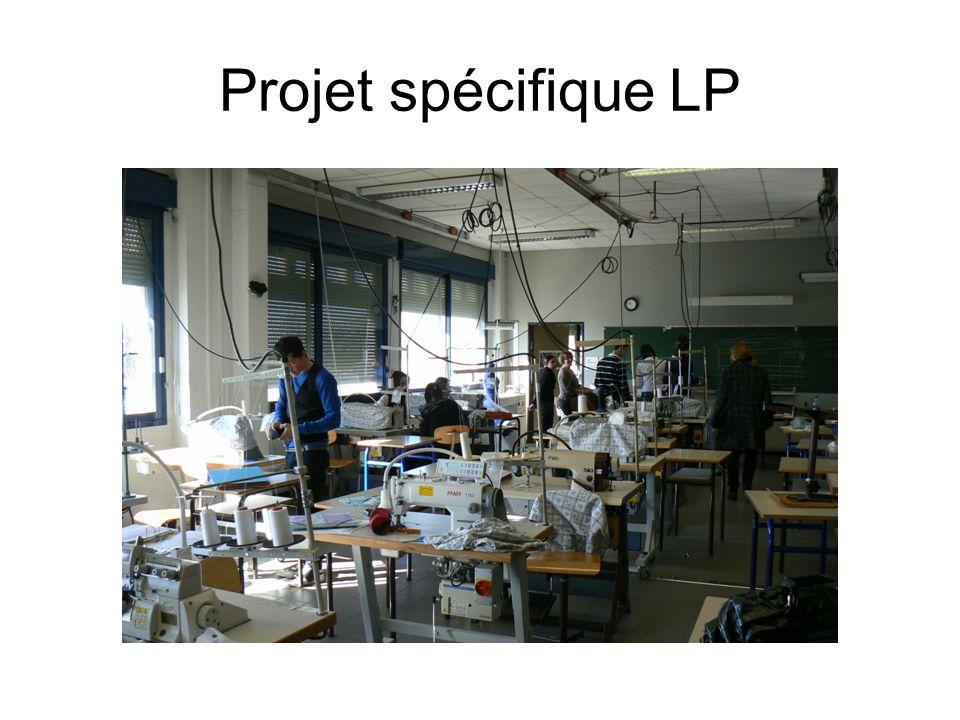 Projet spécifique LP