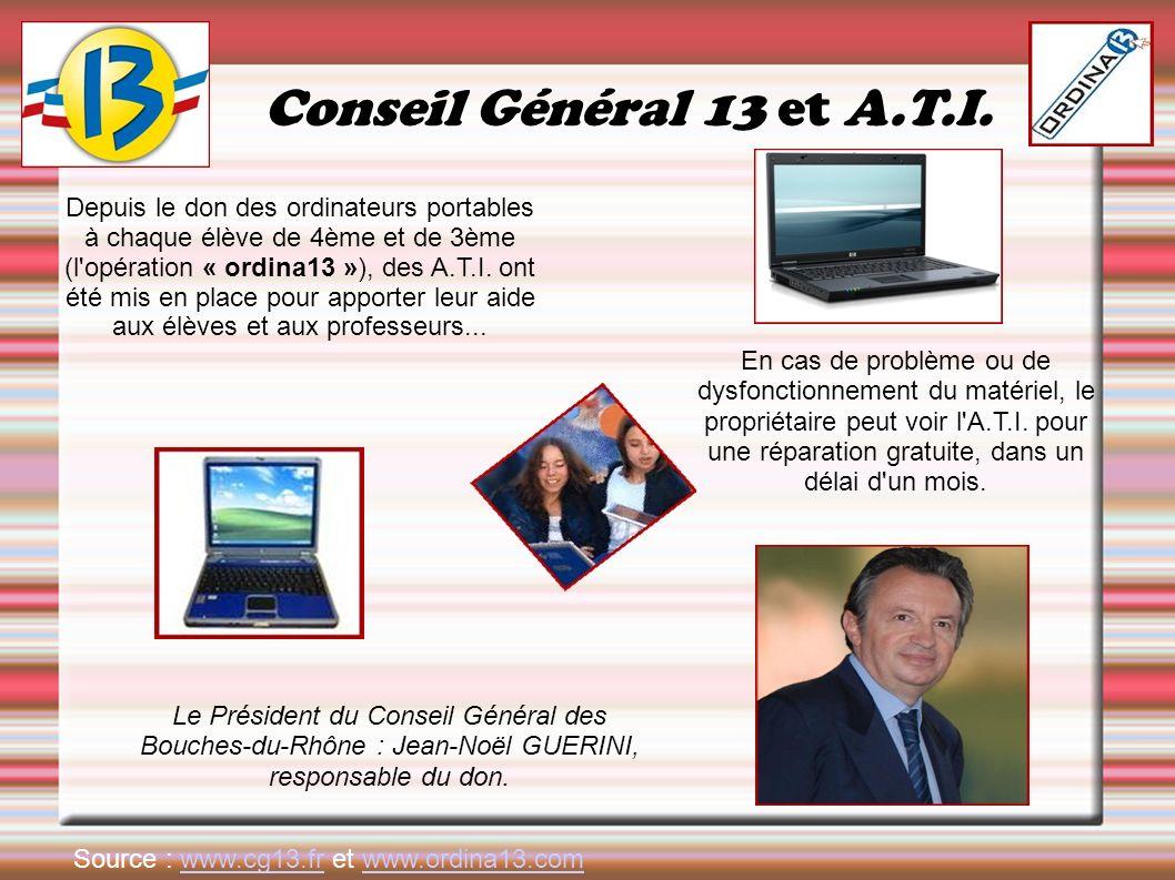 Conseil Général 13 et A.T.I.