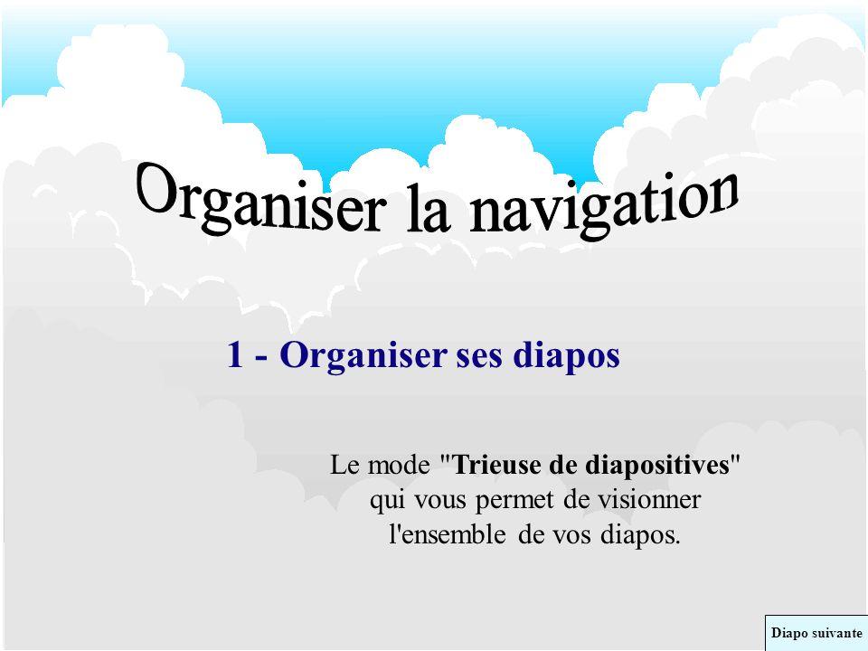 Organiser la navigation
