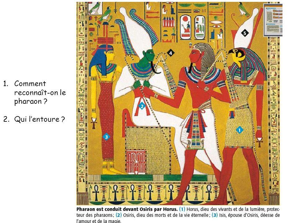 Comment reconnaît-on le pharaon