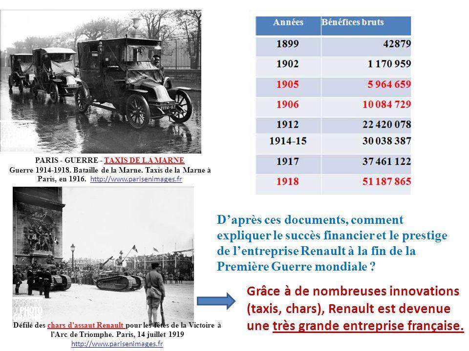 PARIS - GUERRE - TAXIS DE LA MARNE