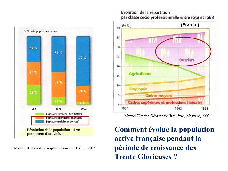 (France) Manuel Histoire-Géographie Troisième, Magnard, 2007.