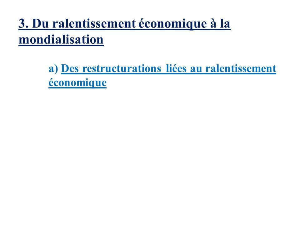 3. Du ralentissement économique à la mondialisation