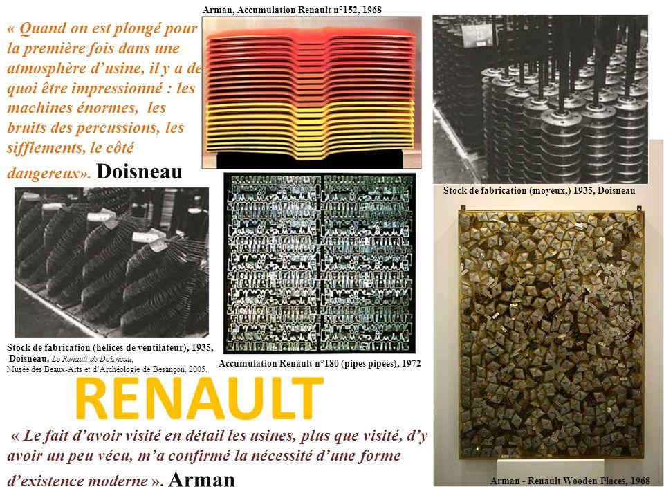 Arman, Accumulation Renault n°152, 1968