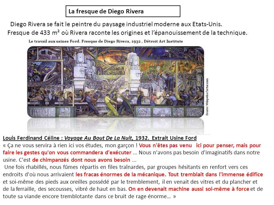 La fresque de Diego Rivera