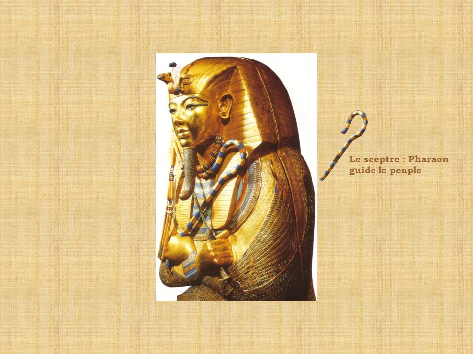 Le sceptre : Pharaon guide le peuple