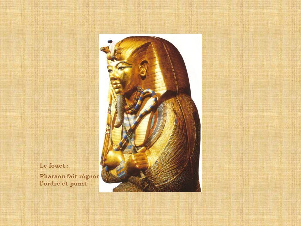 Le fouet : Pharaon fait régner l'ordre et punit