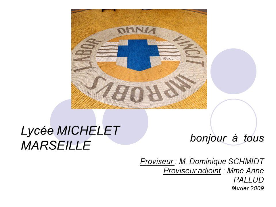 Lycée MICHELET MARSEILLE