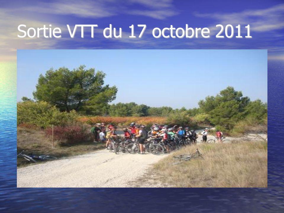 Sortie VTT du 17 octobre 2011