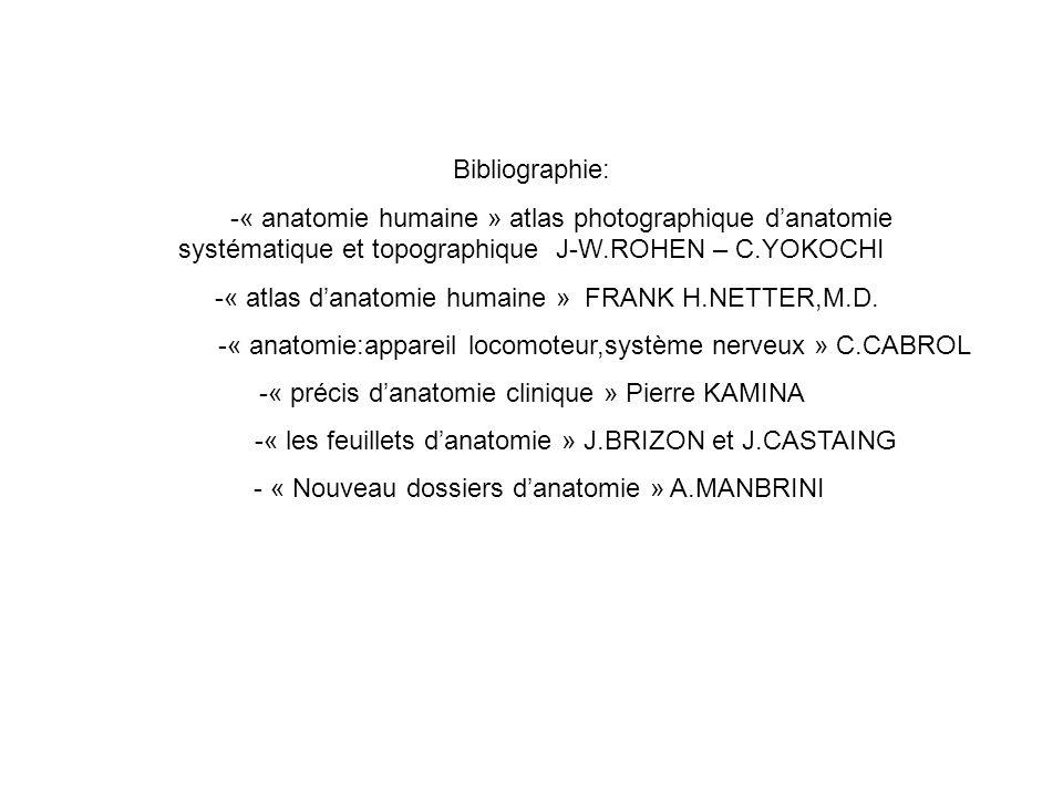 -« atlas d'anatomie humaine » FRANK H.NETTER,M.D.
