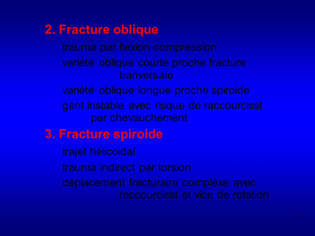 trauma par flexion-compression