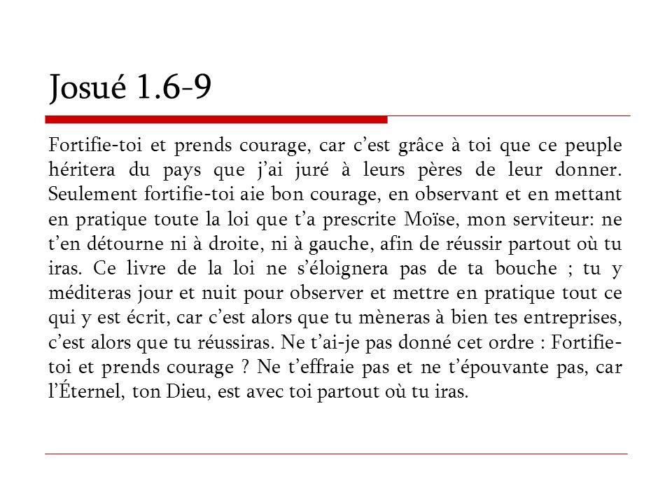 Josué 1.6-9