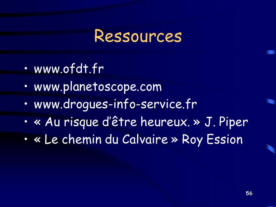 Ressources www.ofdt.fr www.planetoscope.com