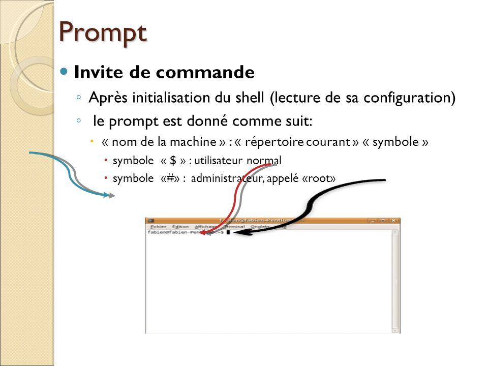 Prompt Invite de commande