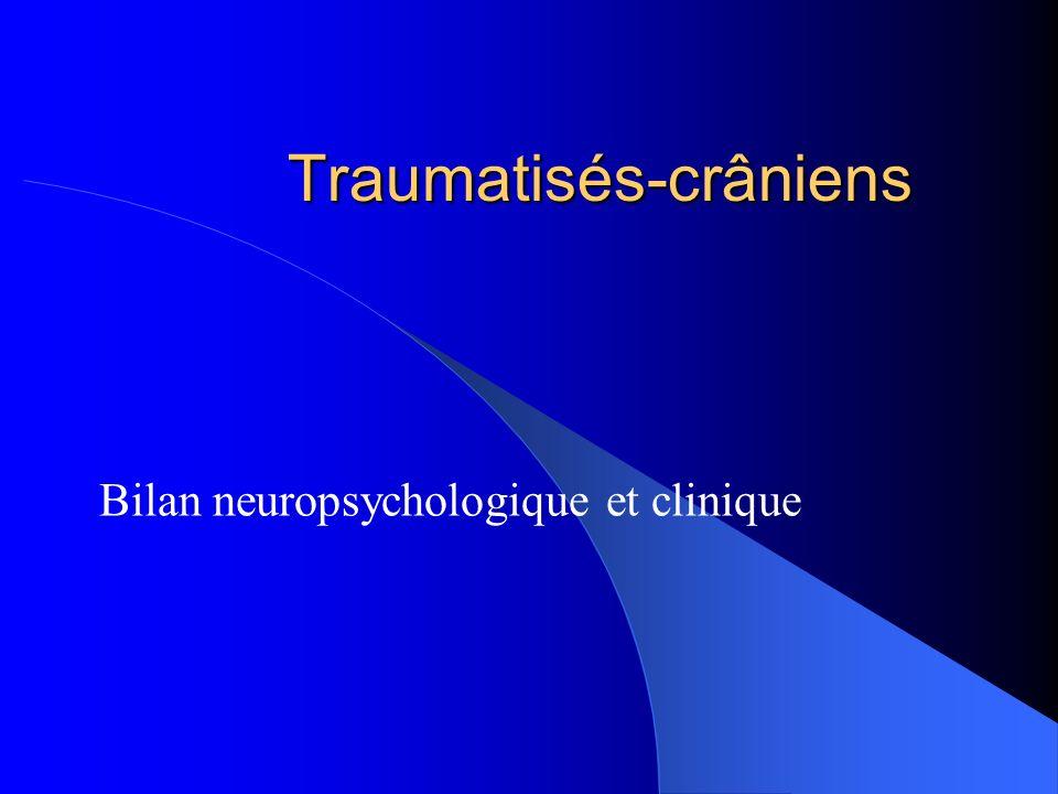 Traumatisés-crâniens