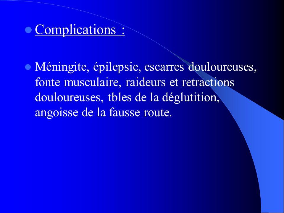 Complications :