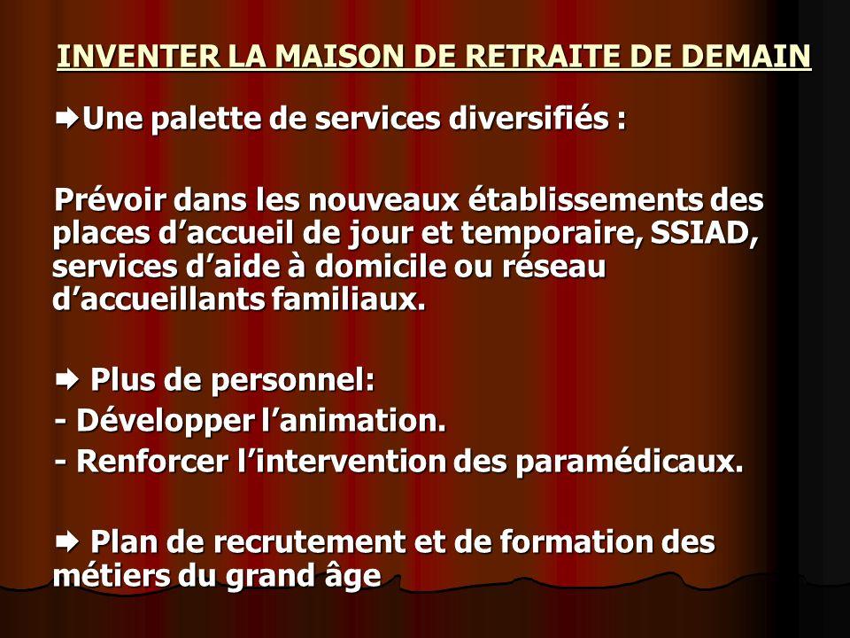 INVENTER LA MAISON DE RETRAITE DE DEMAIN