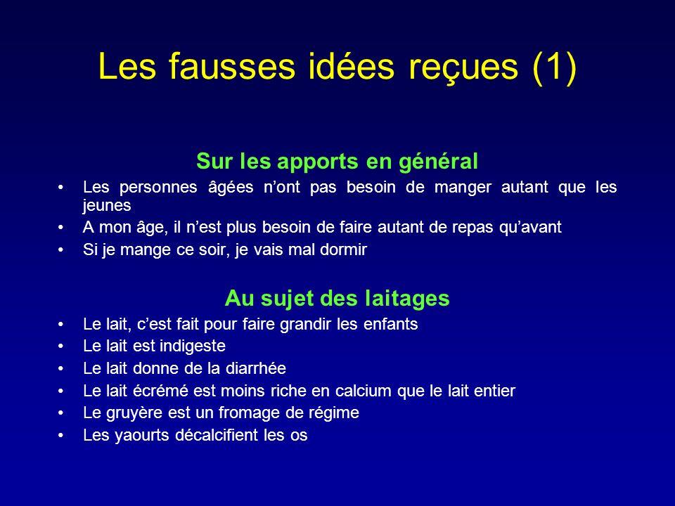 Les fausses idées reçues (1)