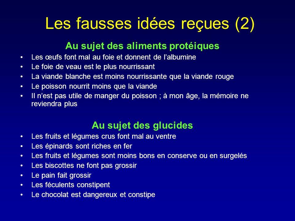 Les fausses idées reçues (2)