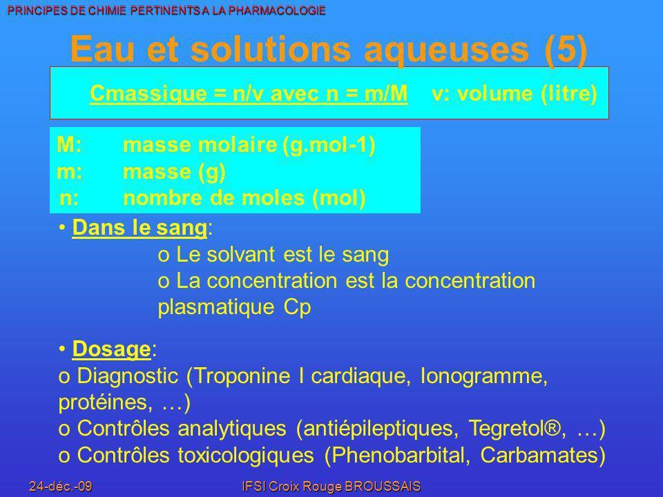 Eau et solutions aqueuses (5)