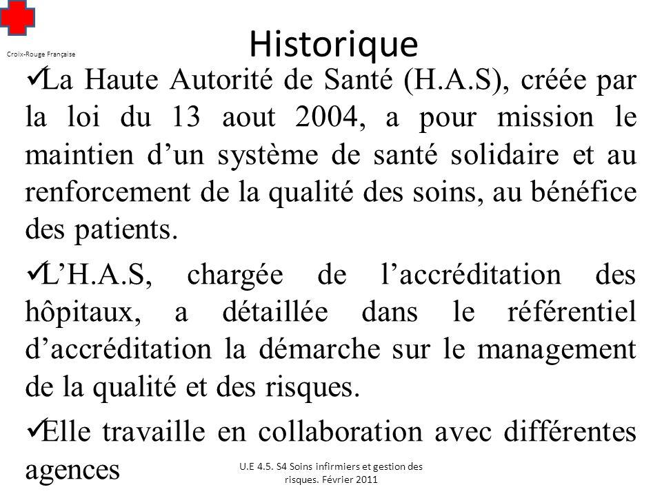 Croix-Rouge Française Historique
