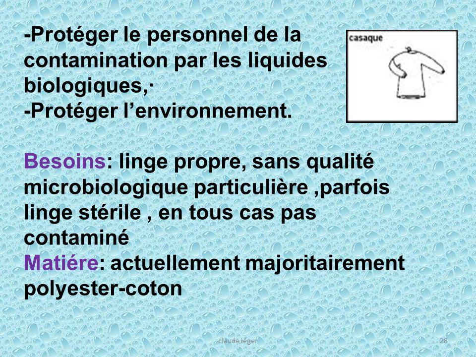 -Protéger l'environnement.
