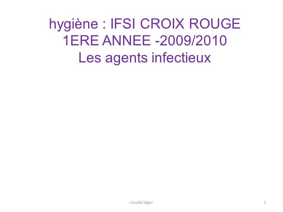 hygiène : IFSI CROIX ROUGE