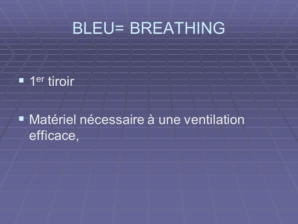 BLEU= BREATHING 1er tiroir