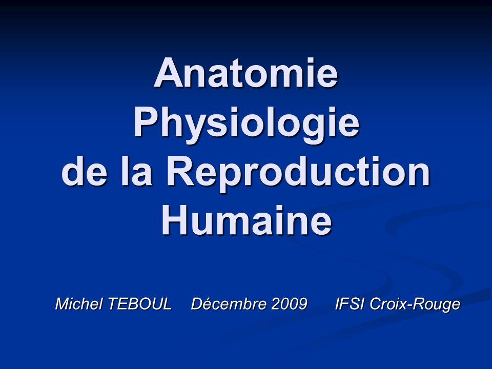 Anatomie Physiologie de la Reproduction Humaine