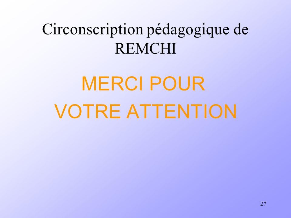 Circonscription pédagogique de REMCHI