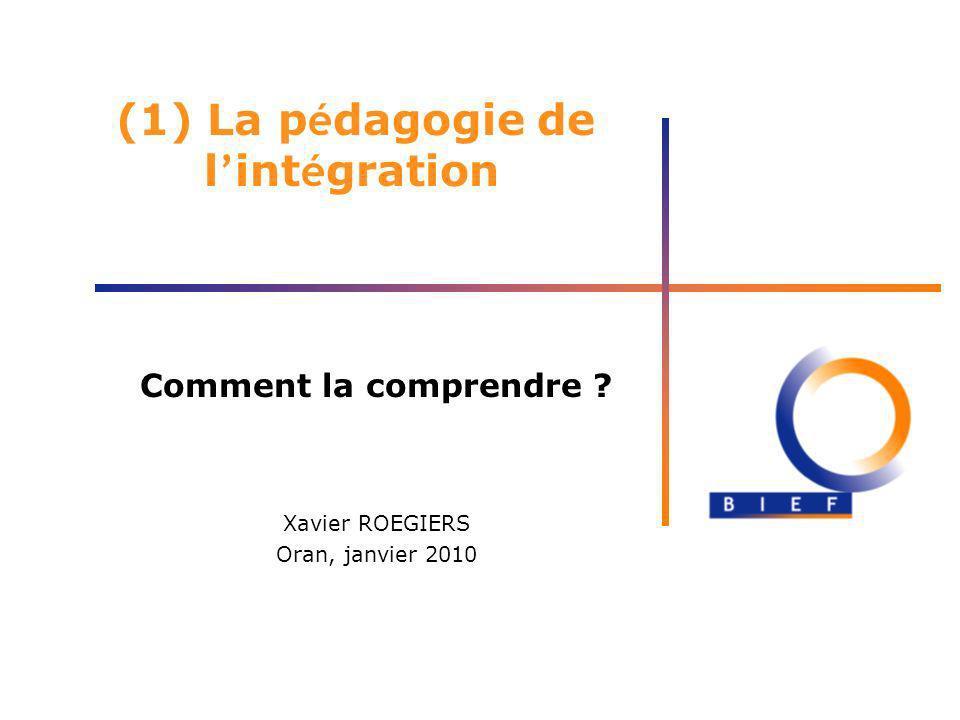 (1) La pédagogie de l'intégration
