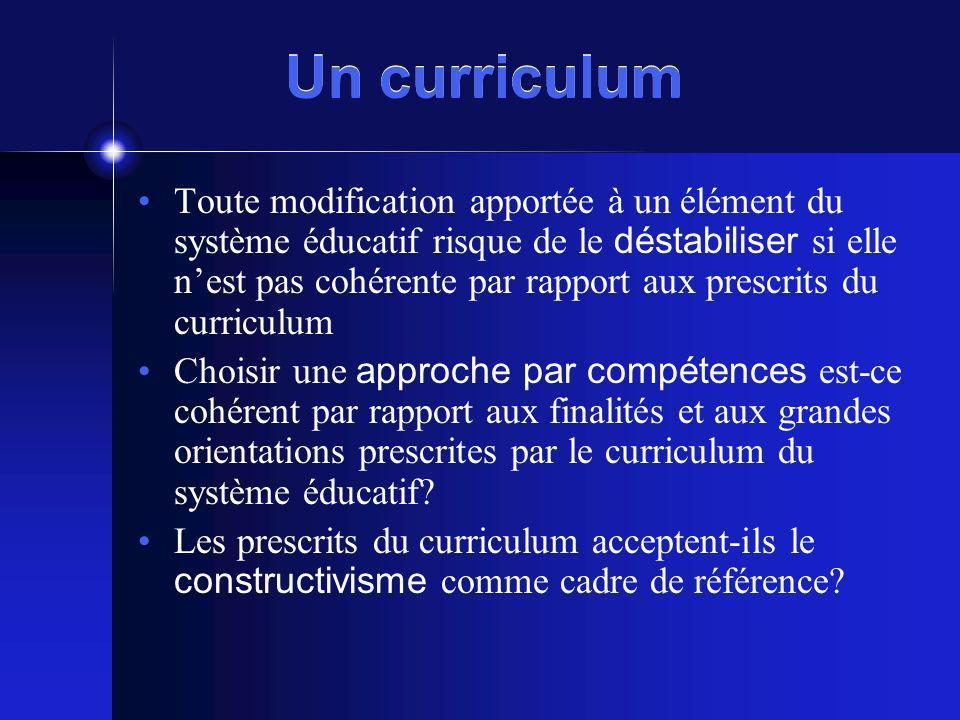 Un curriculum