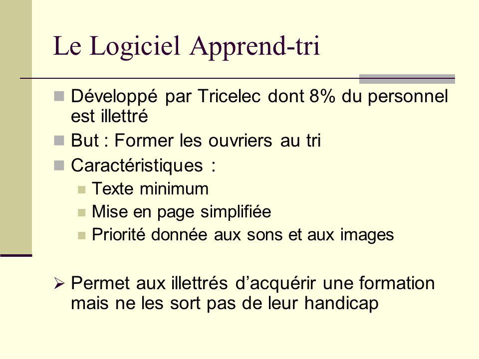 Le Logiciel Apprend-tri
